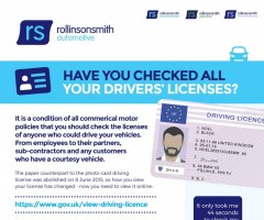 Have You Checked All Your Drivers Licences?