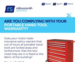 Are You Complying With Your Portable Hand Tool Warranty?